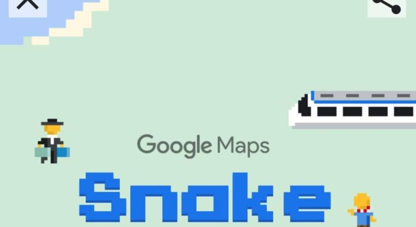 April Fools: Google include Snake game to Maps apps for April Fool's Day quip