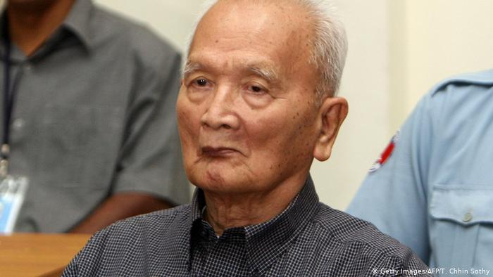 Cambodia's Khmer Rouge leader Nuon Chea dies at 93