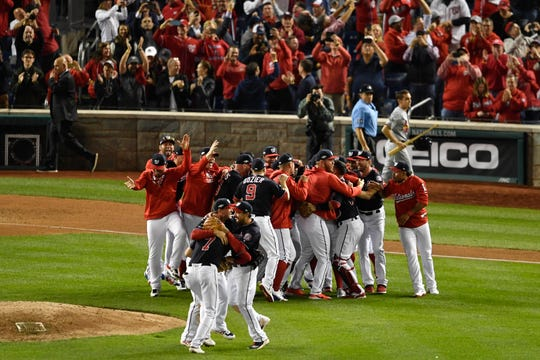 Nationals Secure Enter In First World Series : NLCS Game 4