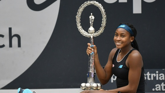 15-Year-old Tennis Star Coco Gauff Win His First WTA Entitle, Her Father Given Guidance Before Victory.