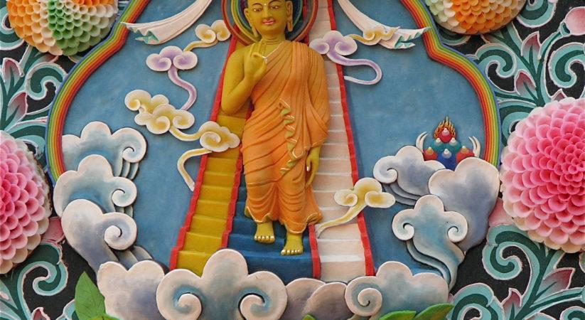 Tibetan Buddhist Celebration Of Lhabab Duchen