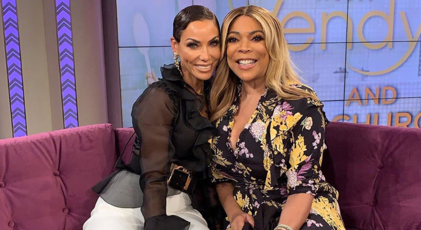 Nicole Murphy Appears On The Wendy Williams Show