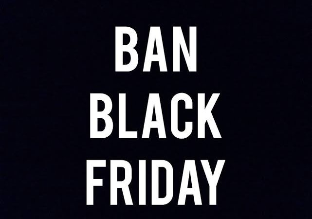 "Boycott Black Friday? French protester and legislators state ""oui"""