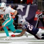 after a last minute lose to Dolphins , Patriots fall to No. 3 seed in AFC end of the season games