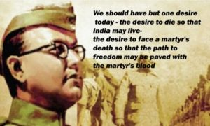 Birthday Of Indian Nationalist Subhas Chandra Bose