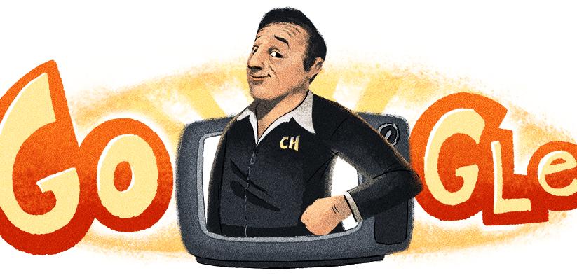 Google Doodle Chespirito's 91st Birthday