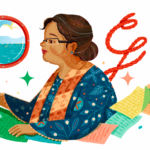 NH Dini's 84th Birthday  Presents Doodle