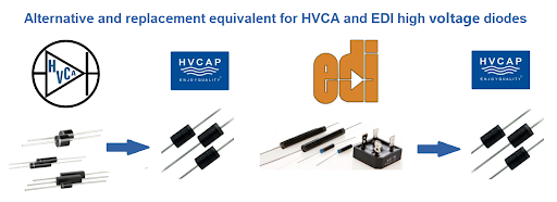 Alternative Replacement of HVCA, EDI, High Voltage Diode,China Manufacturer Supply