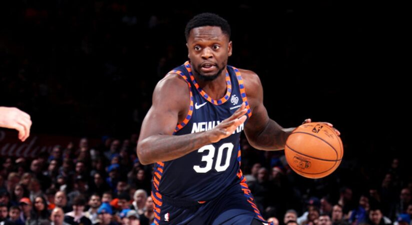 Julius Randle of New York Knicks is named NBA All-Star for first time in career