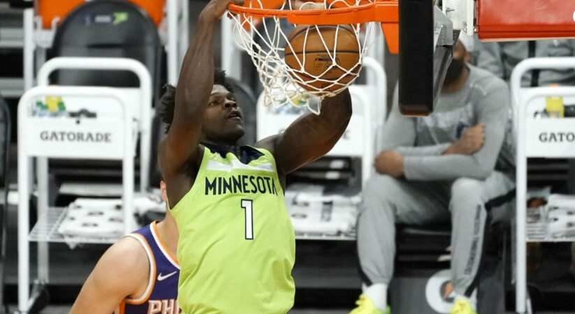 Minnesota Timberwolves Anthony Edwards third youngest in NBA rookie history with 42 points mark