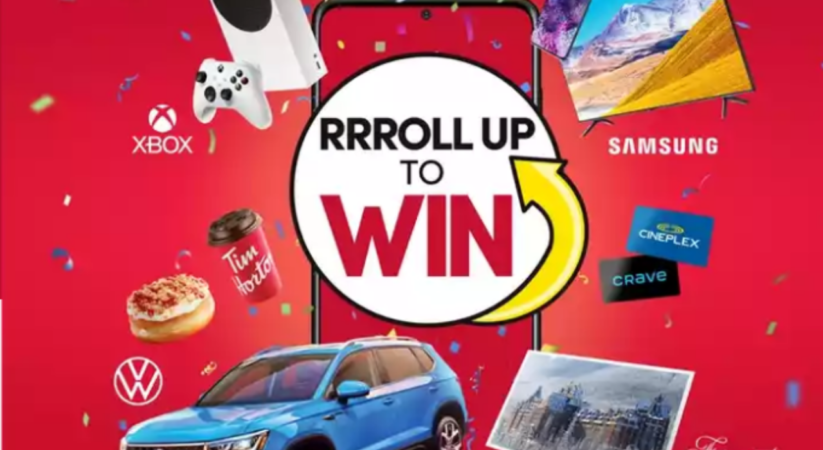 Tim Horton's launches new 'Roll Up To Win' event, Start March 8