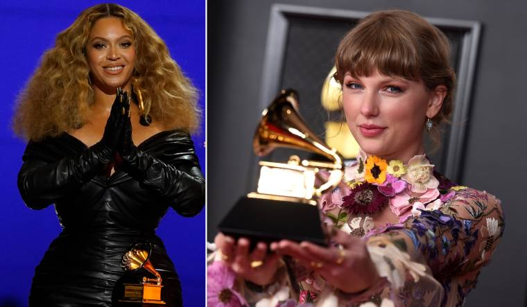 Grammys Awards 2021: Taylor Swift and Beyoncé make history as becoming the most-awarded woman
