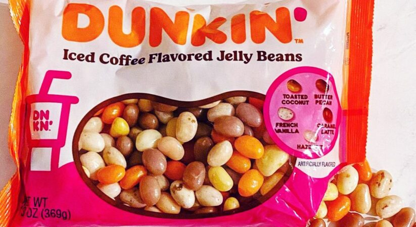 Dunkin' debuts new iced coffee flavored jelly beans, includes the Dunkin coffee's 5 flavors