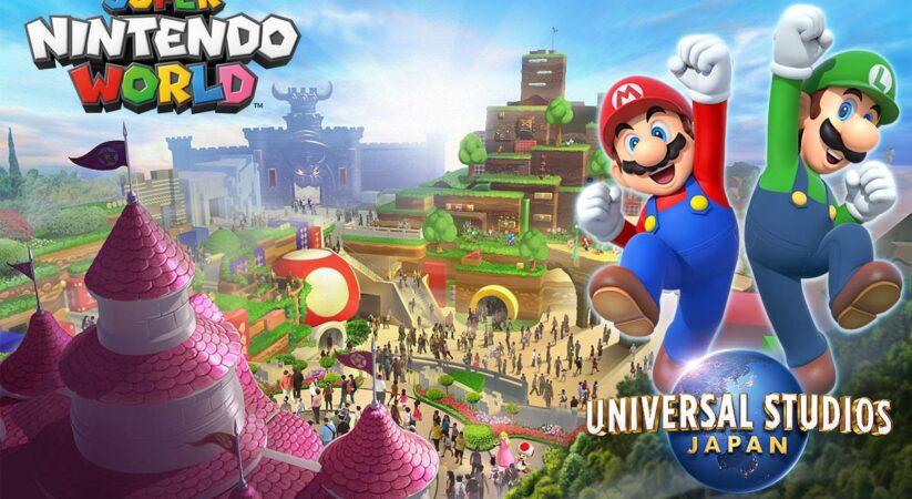 Super Nintendo World opens at Universal Studios Japan in Osaka