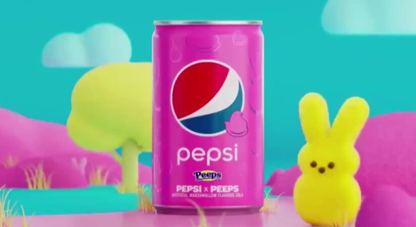 Pepsi releases new Marshmallow soda flavor with Peeps for a limited edition