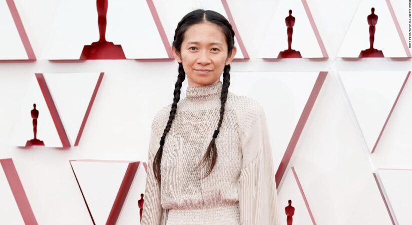 Oscars 2021: Chloé Zhao makes history as first woman of color to win best director for Nomadland