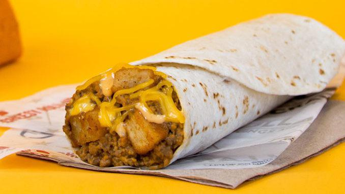 Taco Bell declares the brings back of Beefy Potato-rito