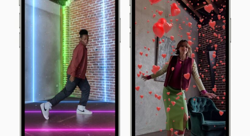 Apple will presently allow you to add virtual lasers and confetti to your Clips videos