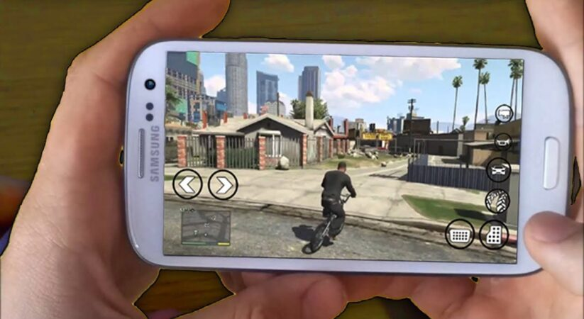 Grand Theft Auto 5 is arriving on your smartphone
