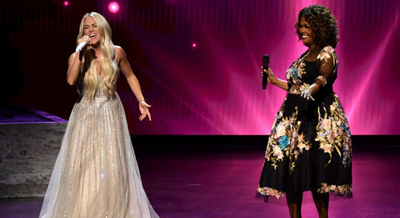 Carrie Underwood performs powerful gospel medley with CeCe Winans at 2021 ACM Awards