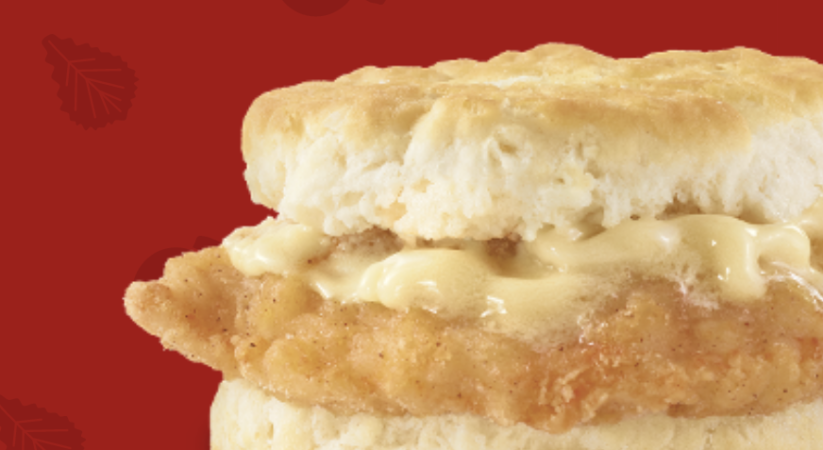 Wendy's just $2 its Honey Butter Chicken Biscuit Sandwich for remainder of April