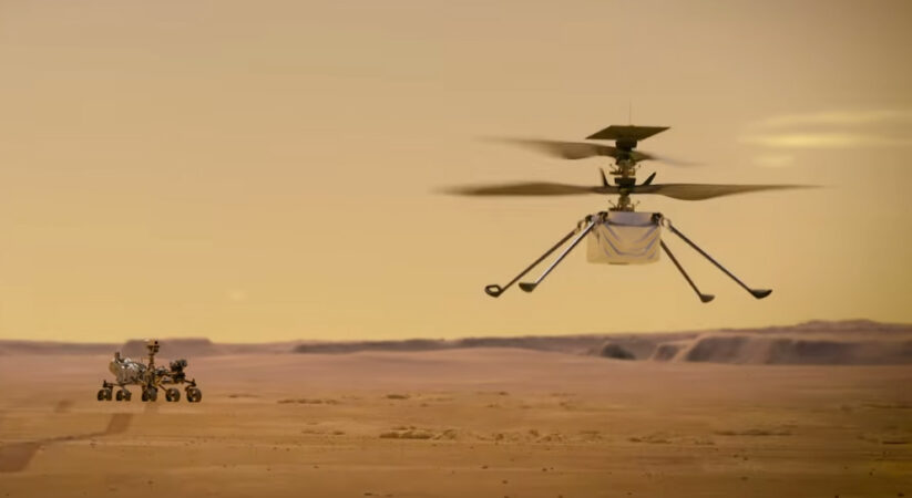 NASA's Ingenuity Mars helicopter become the first aircraft to take flight on another planet