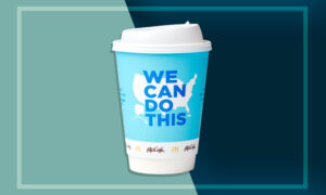 McDonald's is partnering with White House on new Coffee Cups to promote the COVID-19 vaccine
