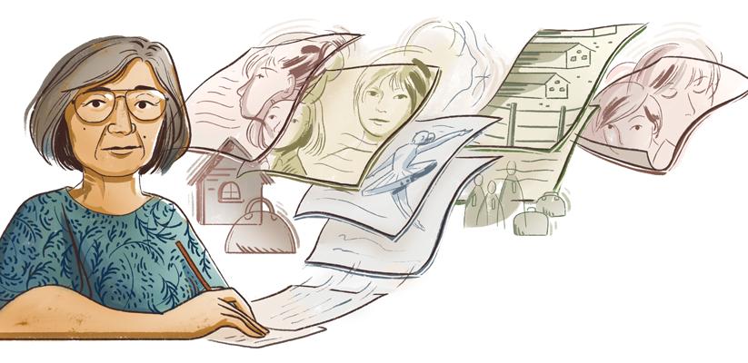 Google doodle honors Japanese-American short story author Hisaye Yamamoto