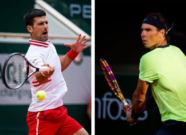 French Open 2021: Rafael Nadal to face Novak Djokovic in semifinal on Friday