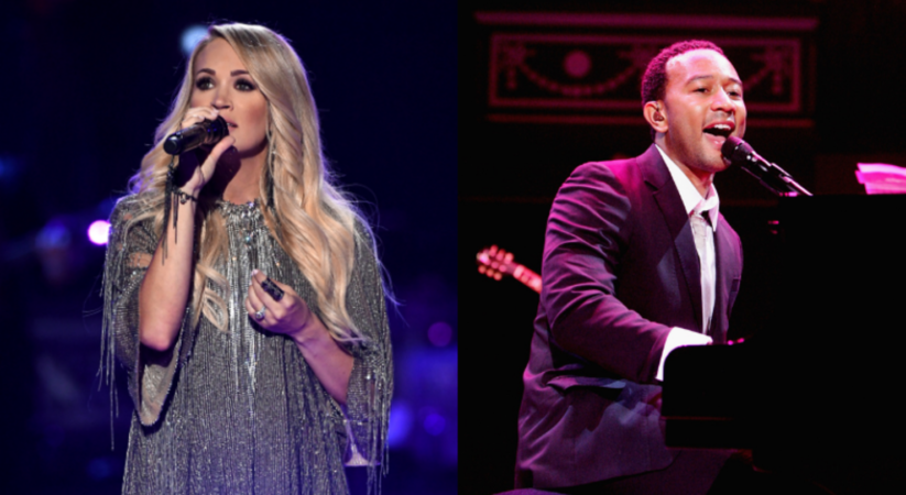Carrie Underwood and John Legend take home top award at CMT Music Awards 2021