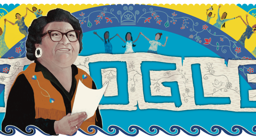Google doodle celebrates Mary Two-Axe Earley