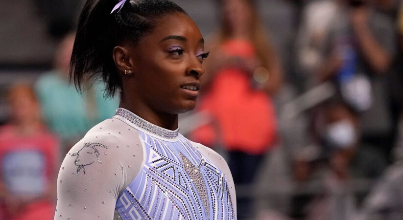 Simone Biles wins record seventh national women's all-around title at US Gymnastics Championships