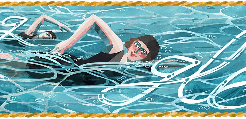 Google doodle celebrates the 130th birthday of Australian athlete 'Wilhelmina Wylie'