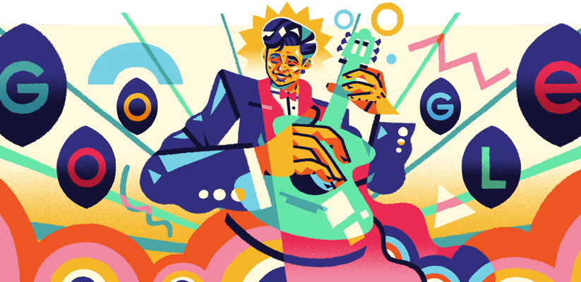 Roberto Cantoral: Google doodle celebrates 85th Birthday of Mexican pianist, guitarist, singer and composer