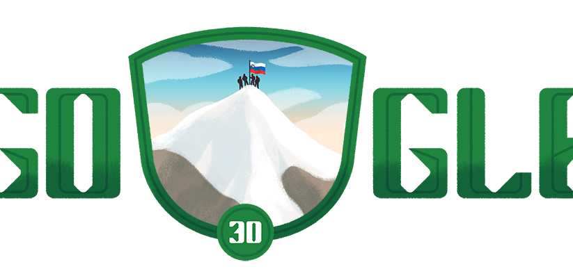 Google Doodle Celebrates Slovenia's National Day