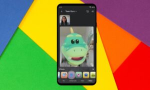 Google Meet is getting new video filters, effects, and augmented reality masks for personal calls on iOS