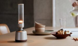 Sony discloses a new version of its 'lamp-style portable speaker'