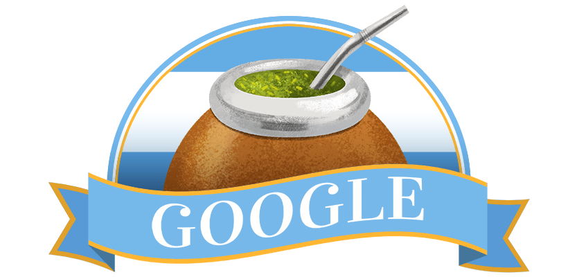 Google doodle celebrates Argentina's Independence Day