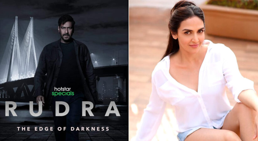 Bollywood actor Esha Deol to star with Ajay Devgn in a upcoming crime-drama web-series 'Rudra'