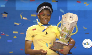 Zaila Avant-garde, becomes 1st African-American to win Scripps National Spelling Bee