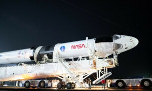 SpaceX rocket brings pad 39A for Inspiration4 crew mission launch