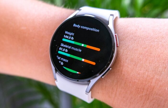 On Samsung Galaxy Watch 4, How to utilize the 'Body Composition' feature