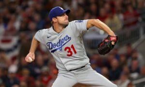 Dodgers' Max Scherzer will not begin NLCS Game 6 vs. Braves