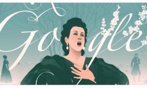 Galina Vishnevskaya: Google doodle celebrates 95th birthday of 20th century Russian opera singers