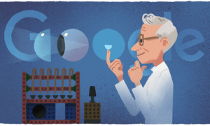 Otto Wichterle: Google doodle celebrates 108th birthday of chemist who invented the contact lens